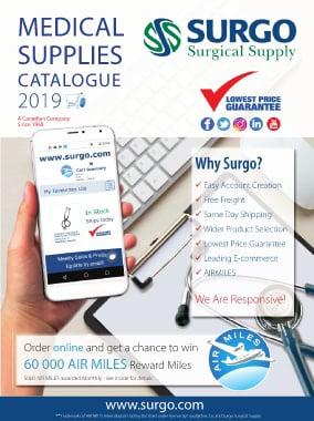 Medical Supplies Catalogue Cover 2019
